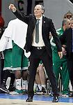 Panathinaikos Athens' coach Dusko Ivanovic during Euroleague match.January 22,2015. (ALTERPHOTOS/Acero)