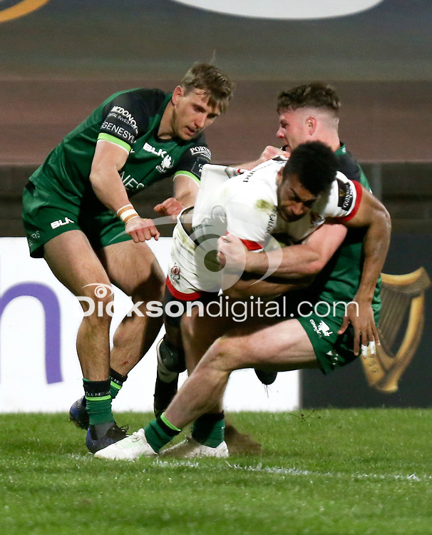 Friday 23rd April 2021; Robert Baloucoune during the first round of the Guinness PRO14 Rainbow Cup between Ulster Rugby and Connacht Rugby at Kingspan Stadium, Ravenhill Park, Belfast, Northern Ireland. Photo by John Dickson/Dicksondigital