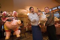 """Europe/France/Rhône-Alpes/74/Haute-Savoie/Annecy: Restaurant """"Le Cochon à l'Oreille"""" - Quai Perrière [Non destiné à un usage publicitaire - Not intended for an advertising use]"""