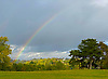 Rainbow over Hampstead Heath.<br />
