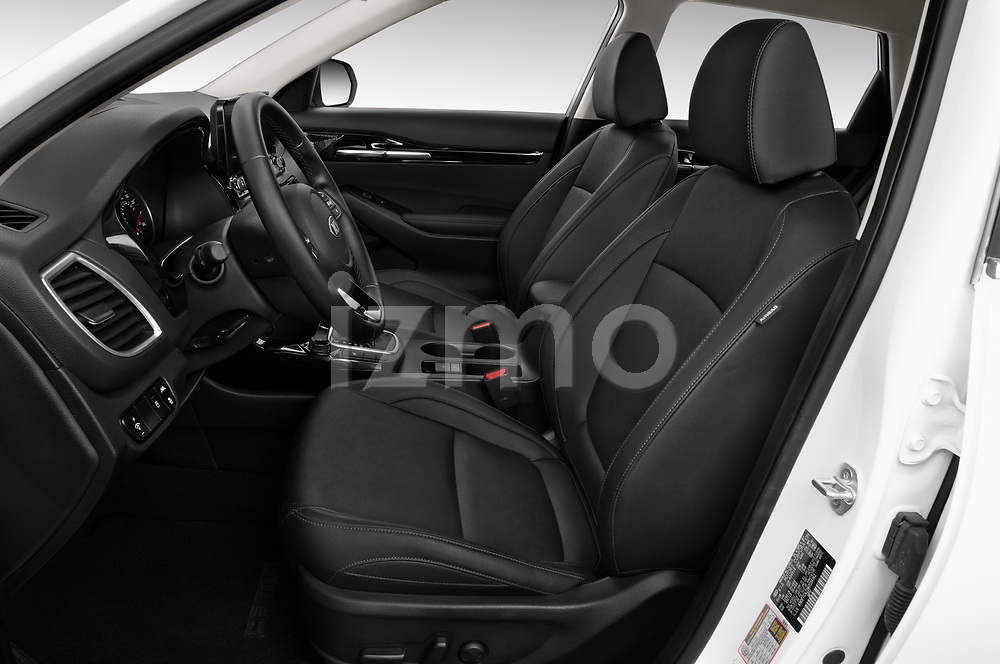 Front seat view of a 2021 KIA Seltos SX 5 Door SUV