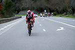 Sven Erik Bystrøm ((NOR) UAE Team Emirates, Jonas Rutsch (GER) EF Education-Nippo, Edward Theuns (BEL) Trek-Segafredo and Tim Declercq (BEL) Deceuninck-QuickStep during Stage 8 of Paris-Nice 2021, running 92.7km from Le Plan-du-Var to Levens, France. 14th March 2021.<br /> Picture: ASO/Fabien Boukla | Cyclefile<br /> <br /> All photos usage must carry mandatory copyright credit (© Cyclefile | ASO/Fabien Boukla)