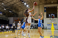SANTA CRUZ, CA - JANUARY 22: Haley Jones #30 takes a shot during a game between UCLA and Stanford University at Kaiser Arena on January 22, 2021 in Santa Cruz, California.
