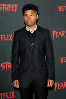 LOS ANGELES - JUN 28:  Benji Flores Jr at Netflix's Fear Street Triology Premiere at the LA STATE HISTORIC PARK on June 28, 2021 in Los Angeles, CA