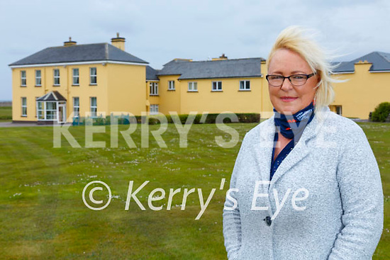 Jeenie Flaherty from Waterville raised over €7.5K for the Air Ambulance service during their 'Marching through March' fundraiser (10K steps a day), Jeenie pictured here at Waterville House where she was airlifted from on the 10thJuly 2020.