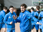 St Johnstone Training…04.04.17<br />Paul Paton pictured during training this morning ahead of tomorrow's game against Hearts<br />Picture by Graeme Hart.<br />Copyright Perthshire Picture Agency<br />Tel: 01738 623350  Mobile: 07990 594431