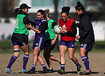 Black Ferns Rugby training prior to the teams departure for the Women's World Cup, Orakei Domain, Auckland, New Zealand. Photo: Simon Watts / www.bwmedia.co.nz