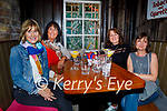 Enjoying the evening in Benners on Friday, l to r: Riona Finn, Deirdre Faragher, Una Kehoe and Janet Gribben.