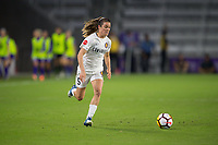 Orlando, FL - Saturday March 24, 2018: Utah Royals forward Kelley O'Hara (5) during a regular season National Women's Soccer League (NWSL) match between the Orlando Pride and the Utah Royals FC at Orlando City Stadium. The game ended in a 1-1 draw.