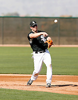 Josh Fields -  Chicago White Sox - 2009 spring training.Photo by:  Bill Mitchell/Four Seam Images