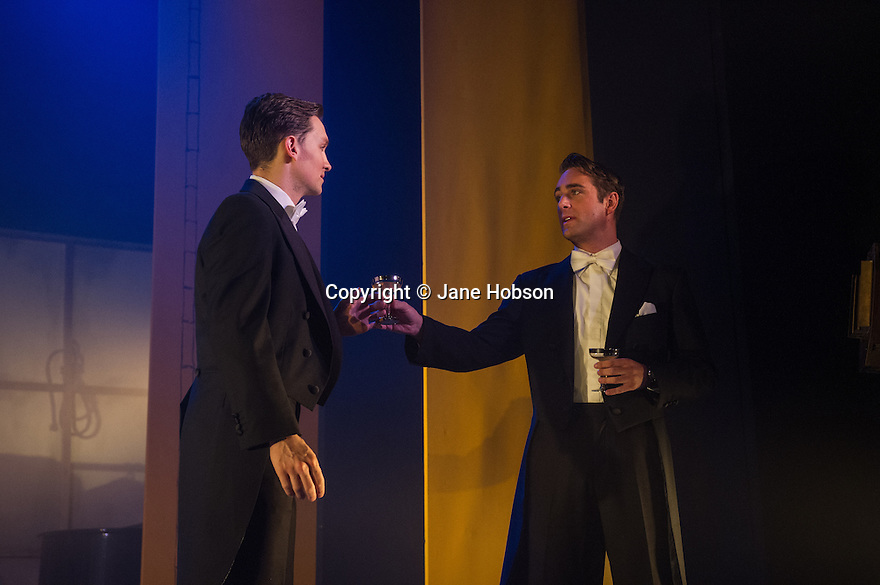 THE TAILOR-MADE MAN is the true story of William Haines, the silent screen star who was fired by Louis B Mayer of MGM Studios because he was gay and refused to marry and give up his lifelong partner, Jimmy Shields. The musical has its world premiere at the Arts Theatre on 21st February and runs until 6th April. Picture shows: