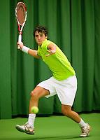 14-03-10, Rotterdam, Tennis, NOJK 12-18 jaar,  Moos Sporken
