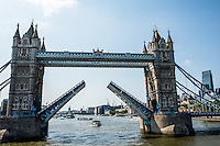 Great Britain, England, London. London Bridge on the Thames River.