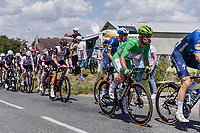 green jersey Mark Cavendish (GBR/Deceuninck-Quick Step)<br /> <br /> Stage 4 from Tours to Chateauroux (160.6km)<br /> 108th Tour de France 2021 (2.UWT)<br /> <br /> ©kramon