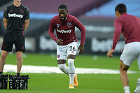 Arthur Masuaku of West Ham United during West Ham United vs Charlton Athletic, Caraboa Cup Football at The London Stadium on 15th September 2020