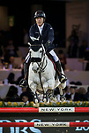 Michael Whitaker of Great Britain riding Valentin R competes in the Masters One DBS during the Longines Masters of Hong Kong at AsiaWorld-Expo on 11 February 2018, in Hong Kong, Hong Kong. Photo by Ian Walton / Power Sport Images