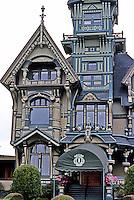Eureka CA:   William Carson House.  Photo '83.