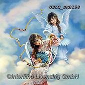 CHILDREN, KINDER, NIÑOS, paintings+++++,USLGSK0158,#K#, EVERYDAY ,Sandra Kock, victorian ,angels
