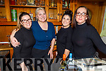 Lilda Koliqi, Enger Hobbert, Kay Brosnan and Emer Connaire, working hard behind the scenes in Bella Bia and enjoying Women's Christmas on Monday.