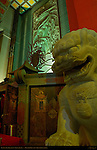 Guardian Lion-Dog, Shi-Shi, Chinese Theatre, Hollywood Boulevard, Hollywood, California