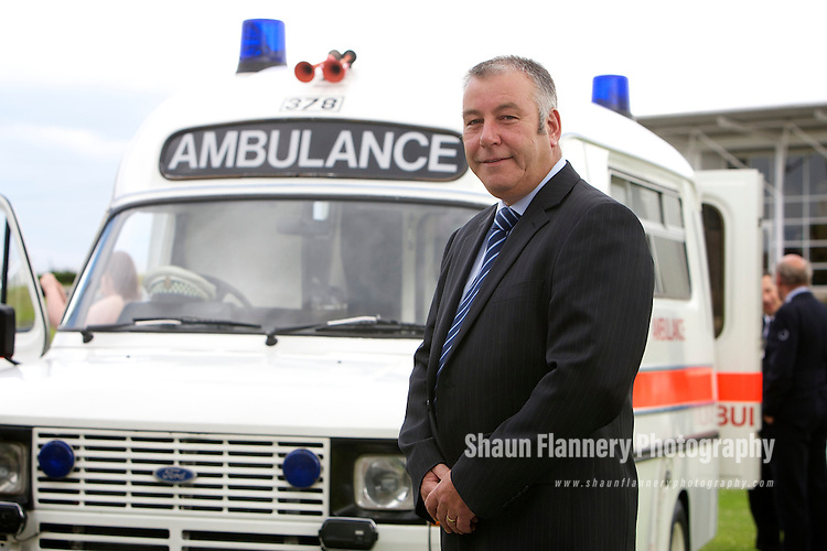 Pix: Shaun Flannery/shaunflanneryphotography.com...COPYRIGHT PICTURE>>SHAUN FLANNERY>01302-570814>>07778315553>>..1st July 2011..................Yorkshire Ambulance Service NHS Trust..Long Service and Retirement Awards..Bramham Hall, Wetherby Racecourse..Paul Stevens