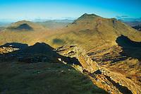 Beinn Ime and Beinn Luibhean from The Cobbler, the Arrochar Alps, Loch Lomond and the Trossachs National Park, Argyll & Bute