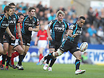 Kahn Fotuali'i..RaboDirect Pro12 Play Off Semi Final.Ospreys v Munster.Liberty Stadium.11.05.12.©Steve Pope