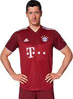29th August 2021; Munich, Germany; FC Bayern Munich official team portraits for season 2021-22:  Robert Lewandowski