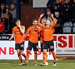 08.11.2019 Dundee v Dundee Utd: Lawrence Shankland celebrates his goal