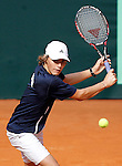 USA's Patrick Kypson during Junior Davis Cup 2015 match. September  30, 2015.(ALTERPHOTOS/Acero)