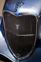 Close up of grill. 1933 Ford. Wilsonville, Oregon