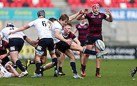 Tuesday 28th February 2017 | ULSTER SCHOOLS CUP SEMI-FINAL<br /> <br /> Johnny Jordan during the Ulster Schools Cup Semi-Final between MCB and BRA at Kingspan Stadium, Ravenhill Park, Belfast, Northern Ireland. <br /> <br /> Photograph by John Dickson | www.dicksondigital.com