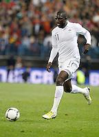 France's national team Sissoko during match. October 16, 2012. (ALTERPHOTOS/Alvaro Hernandez) /NORTEPhoto