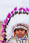 Crow Fair Parade Participant