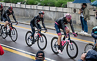 Filippo Ganna (ITA/INEOS Grenadiers) rolling through the (famous) city of Parma<br /> <br /> 104th Giro d'Italia 2021 (2.UWT)<br /> Stage 4 from Piacenza to Sestola (187km)<br /> <br /> ©kramon