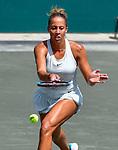 April 6,2018:  Madison Keys (USA) defeated Bernarda Pera (USA) 6-2, 6-7, 7-5, at the Volvo Car Open being played at Family Circle Tennis Center in Charleston, South Carolina.  ©Leslie Billman/Tennisclix/CSM