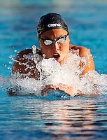 Trofeo Settecolli di nuoto al Foro Italico, Roma, 15 giugno 2013.<br /> Zsuzsanna Jakabos, of Hungaria, competes in the women's 200 meters Medley at the Sevenhills swimming trophy in Rome, 15 June 2013.<br /> UPDATE IMAGES PRESS/Isabella Bonotto