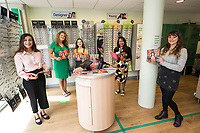 Lowrie Moore at the launch of her new book 'Princess Rose & the Golden Glasses' held at Specsavers in Beeston, Nottingham.