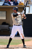 March 7, 2010:  D.J. Hicks of the Central Florida Knights during game at Jay Bergman Field in Orlando, FL.  Central Florida lost to Central Michigan by the score of 7-4.  Photo By Mike Janes/Four Seam Images