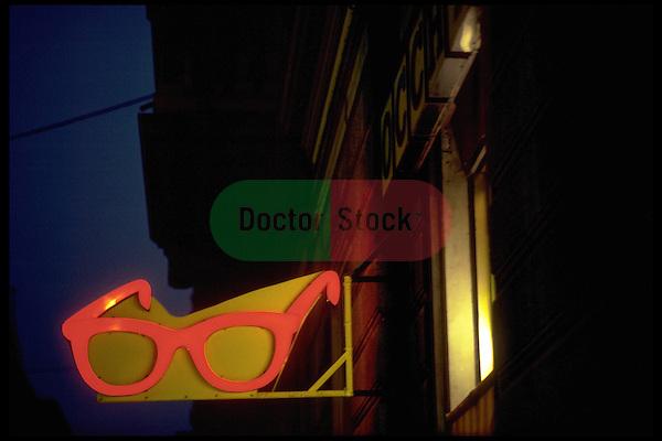 optician shop sign