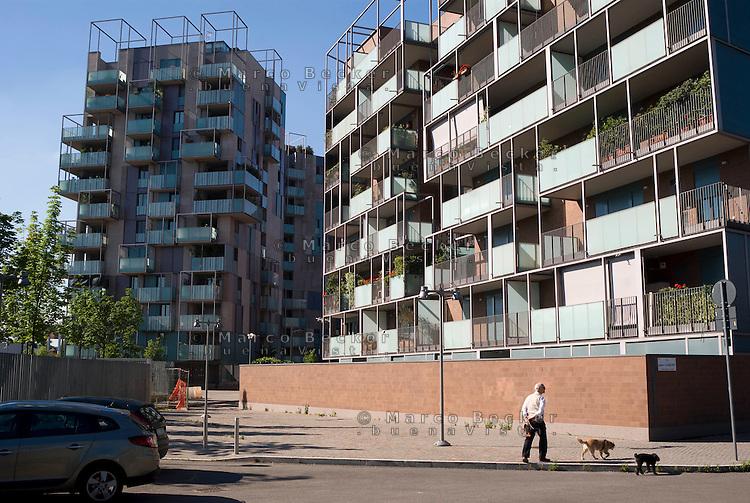 milano, quartiere portello --- milan, portello district