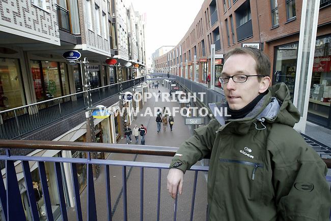 Nijmegen, 270106<br /> Bas Spierings in Mariekenstraat. <br /> <br /> Foto: Sjef Prins - APA Foto