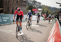 Wout Poels (NED/Bahrain - Victorious)<br /> <br /> 85th La Flèche Wallonne 2021 (1.UWT)<br /> 1 day race from Charleroi to the Mur de Huy (BEL): 194km<br /> <br /> ©kramon