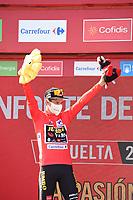3rd September 2021; Tapia to Monforde de Lemos, Asturias, Spain; stage 19 of Vuelta a Espanya cycling tour;  Jumbo - Visma Roglic, Primoz Monforte De Lemos