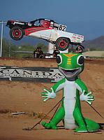 Apr 16, 2011; Surprise, AZ USA; LOORRS driver Chris Brandt (82) during round 3 at Speedworld Off Road Park. Mandatory Credit: Mark J. Rebilas-.