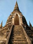 Chedi-Wat Phra Sri Sanphet-Ayattha