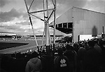 Watching Boro lose 2-4 to Derby from the corner of the Holgate End. The 1950s corrugated South Stand is on the right. Boro 2 Derby County 4, 18th March 1995. Photo by Paul Thompson