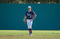 Jace LaViolette (12) during the WWBA World Championship at Lee County Player Development Complex on October 9, 2020 in Fort Myers, Florida.  Jace LaViolette, a resident of Katy, Texas who attends Obra D. Tompkins High School, is committed to Louisiana State.  (Mike Janes/Four Seam Images)