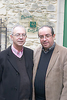 Jean-Jacques Sabon and Denis Sabon owner domaine roger sabon chateauneuf du pape rhone france
