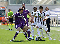Aaron Ramsey of Juventus  during the  italian serie a soccer match,Fiorentina - Juventus at  theStadio Franchi in  Florence Italy ,
